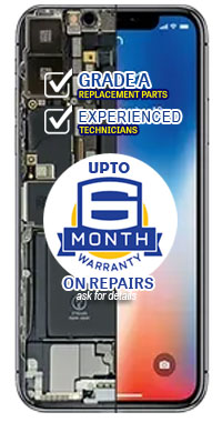 up to 6 months warranty on repairs